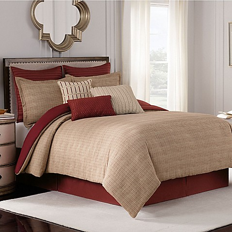 Bridge Street Loom Reversible Comforter Set Bed Bath