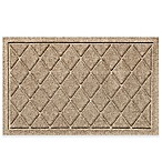 Weather Guard™ 20-Inch X 30-Inch Argyle Door Mat in Camel