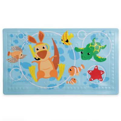 Bath Safety U003e Dreambaby® Heat Alert Anti Slip Bath Mat With Too Hot