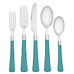 Noritake® Colorwave 5-Piece Flatware Place Setting in Turquoise