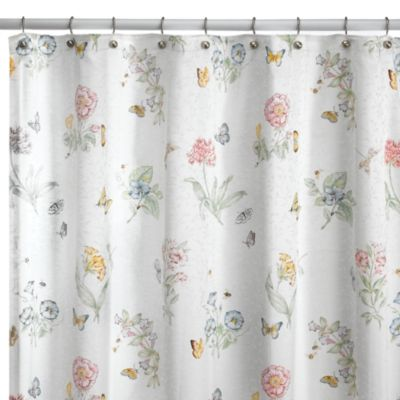 buy gigi 72 inch x 72 inch fabric shower curtain in white from bed bath beyond. Black Bedroom Furniture Sets. Home Design Ideas