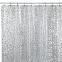 Pebbles Shower Curtain in Clear