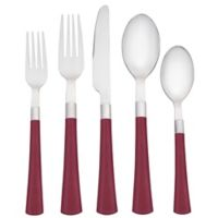 Noritake® Colorwave 5-Piece Flatware Place Setting in Raspberry