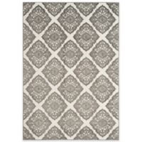 Safavieh Cottage Diamond Damask 8-Foot x 11-Foot 2-Inch Indoor/Outdoor Rug in Cream