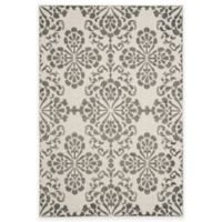 Safavieh Cottage Floral Damask 6-Foot 7-Inch x 9-Foot 6-Inch Indoor/Outdoor Rug in Cream