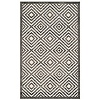 Safavieh Cottage Diamonds 3-Foot 3-Inch x 5-Foot 3-Inch Indoor/Outdoor Rug in Grey