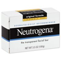 Neutrogena® 3.5 oz. Fragrance Free Transparent Facial Bar Soap