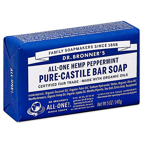 dr bronner 39 s 5 oz pure castile bar soap in peppermint buybuy baby. Black Bedroom Furniture Sets. Home Design Ideas