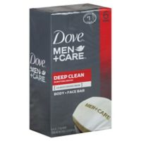 Dove's® 6-Count 4 oz. Men+Care Deep Clean Body and Face Bar