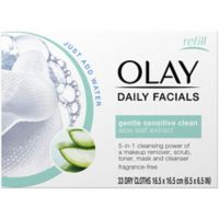 Olay® 33-Count 2-In-1 Daily Facial Cleanser Cloths for Sensitive Skin