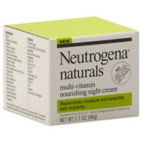 Neutrogena® 1.7 oz. Naturals Multi-Vitamin Nourishing Night Cream