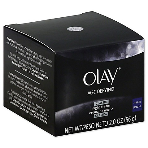 Buy OlayR Age Defying 2 Oz Anti Wrinkle Night Cream From