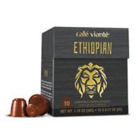 Café Viante® 10-Count Ethiopian Nespresso® Compatible Espresso Capsules