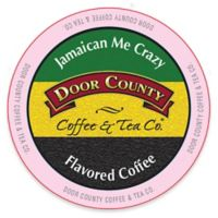 12-Count Door County Coffee & Tea Co. Jamaican Me Crazy Coffee for Single Serve Coffee Makers