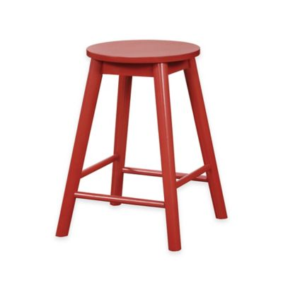 Buy Red Wood Stools From Bed Bath Amp Beyond