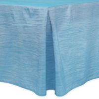 Delano 6-Foot Fitted Tablecloth in Ice Blue
