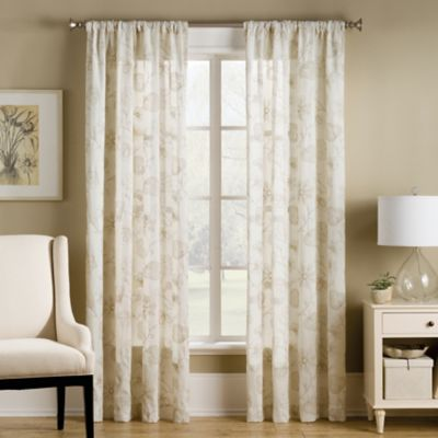 Buy 108 inch Linen Curtain Panels from Bed Bath & Beyond