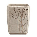 Berkshire Polyresin Wastebasket in Taupe