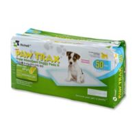 Paw Trax® 50-Pack Doggy Training Pads in White