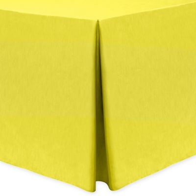 Majestic 30 Inch X 72 Inch Oblong Tablecloth In Lemon