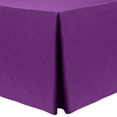 Majestic 30 Inch X 72 Inch Oblong Tablecloth In Plum