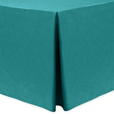 Majestic 30 Inch X 96 Inch Oblong Tablecloth In Turquoise