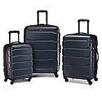 Samsonite® Omni 3-Piece 4-Wheel Expandable Spinner Set in Teal