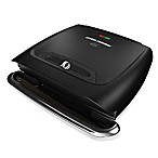 George Foreman® 8-Serving Classic Plate Grill in Black