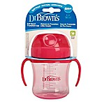 Dr. Brown's® 6 oz. Soft Spout Transition Cup in Pink