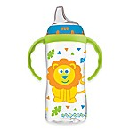 NUK® 10 oz. Jungle Designs Large Learner Cup in Blue/Green