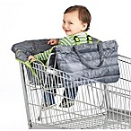 Nuby™ Quilted Shopping Cart and High Chair Cover in Grey