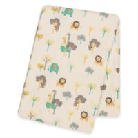 Trend Lab® Lullaby Jungle Deluxe Flannel Swaddle Blanket