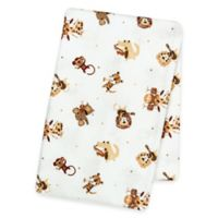 Trend Lab® Safari Rock Band Deluxe Flannel Swaddle Blanket