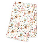 Trend Lab® Playful Elephants Deluxe Flannel Swaddle Blanket