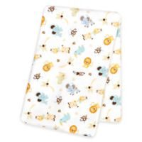 Trend Lab® Jungle Friends Deluxe Flannel Swaddle Blanket