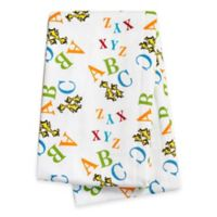 """Trend Lab® Dr. Seuss™ """"ABC"""" Deluxe Flannel Swaddle Blanket"""