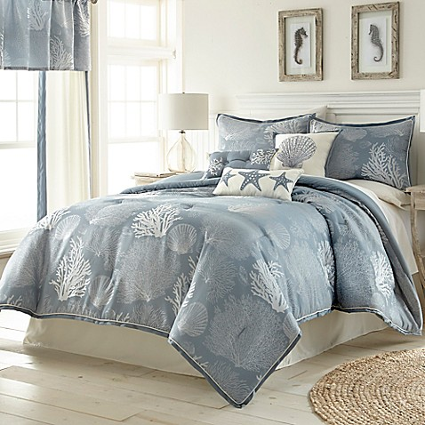 Buy siesta key 7 piece california king comforter set in - Bed bath and beyond bedroom furniture ...