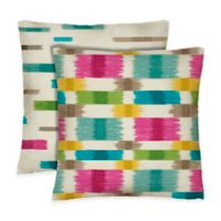 Colorfly™ Barnaby Reversible Throw Pillow in Prism (Set of 2)