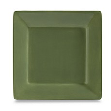 Tabletops Unlimited® Misto 10 1/2 Inch Square Dinner Plate In Green