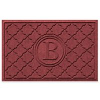 Weather Guard™ Bombay 23-Inch x 35-Inch Door Mat in Red/Black