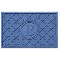 Weather Guard™ Bombay 23-Inch x 35-Inch Door Mat in Medium Blue