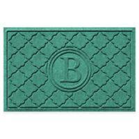 Weather Guard™ Bombay 23-Inch x 35-Inch Door Mat in Aquamarine