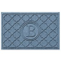 Weather Guard™ Bombay 23-Inch x 35-Inch Door Mat in Blue Stone