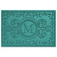 Weather Guard™ Baroque 23-Inch x 35-Inch Door Mat in Aquamarine