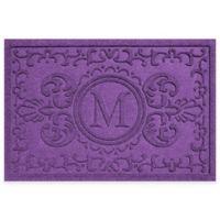 Weather Guard™ Baroque 23-Inch x 35-Inch Door Mat in Purple