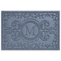 Weather Guard™ Baroque 23-Inch x 35-Inch Door Mat in Blue Stone