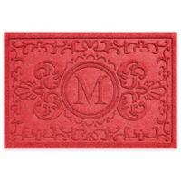 Weather Guard™ Baroque 23-Inch x 35-Inch Door Mat in Red