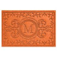 Weather Guard™ Baroque 23-Inch x 35-Inch Door Mat in Orange