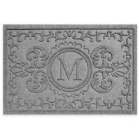 Weather Guard™ Baroque 23-Inch x 35-Inch Door Mat in Medium Grey