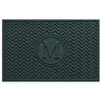 Weather Guard™ Chevron 23-Inch x 36-Inch Door Mat in Evergreen